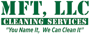 MFT, LLC Cleaning Services Logo